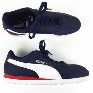 NWOB PUMA CLASSIC NAVY SNEAKERS 9
